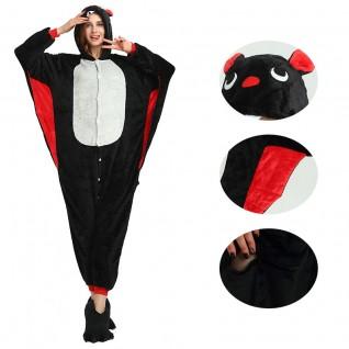 Animal Costume Bat Kigurumi Onesies Pajamas for Adult