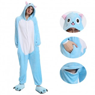 Blue Cat Kigurumi