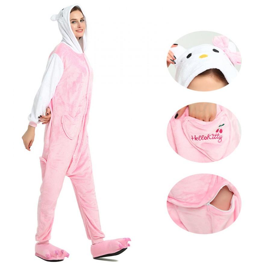 Pink Hello Kitty Kigurumi