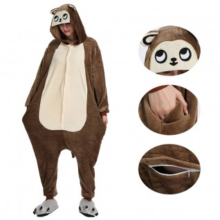 Brown Monkey Kigurumi