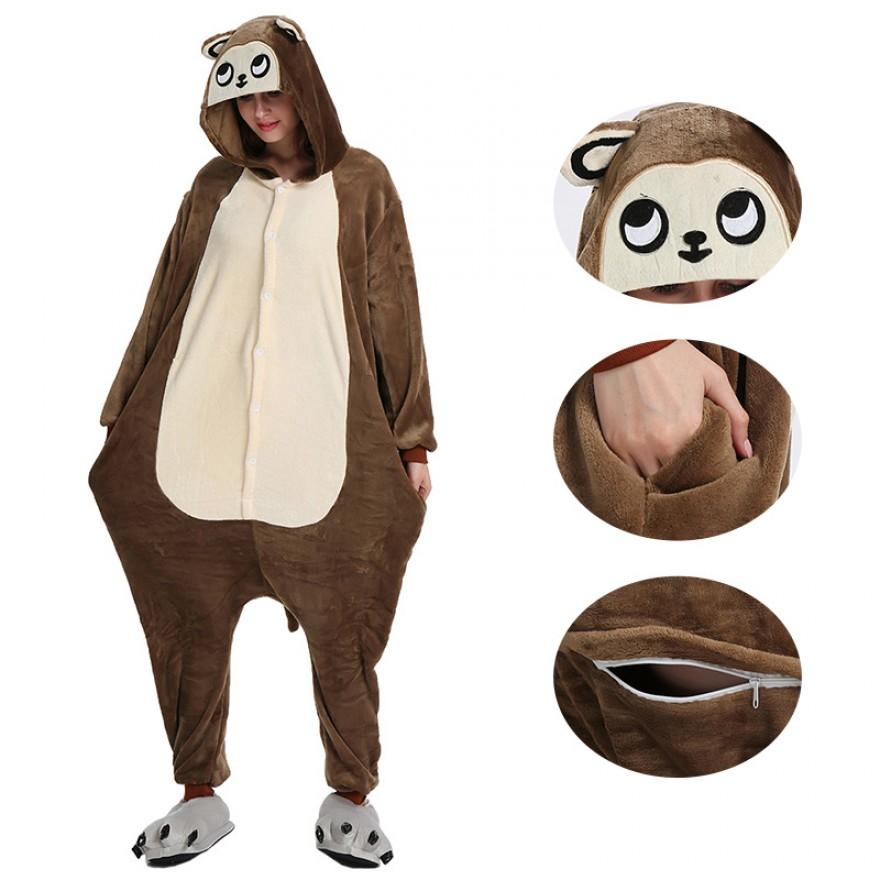 Brown Monkey Kigurumi