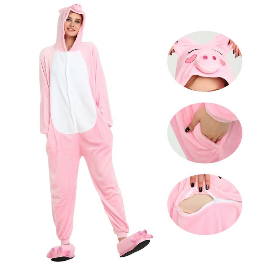 Pink Pig Kigurumi