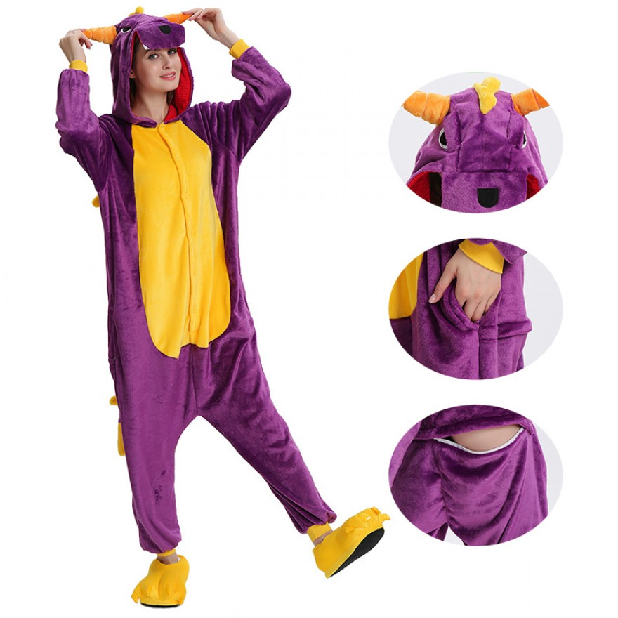 Purple Dragon Kigurumi