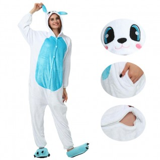 Blue Rabbit Kigurumi