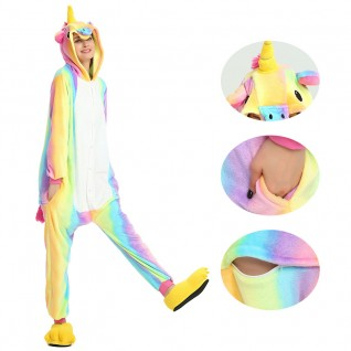 Colorful Unicorn Kigurumi