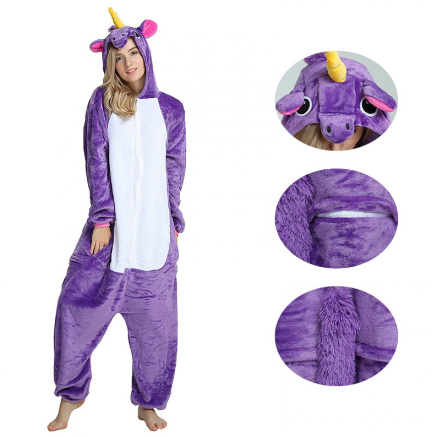 Purple Unicorn Kigurumi