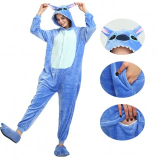Blue Stitch Kigurumi