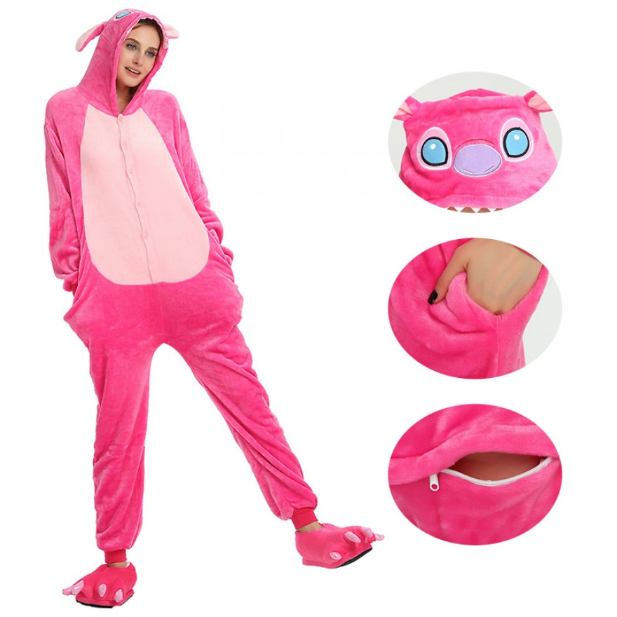 Pink Stitch Kigurumi