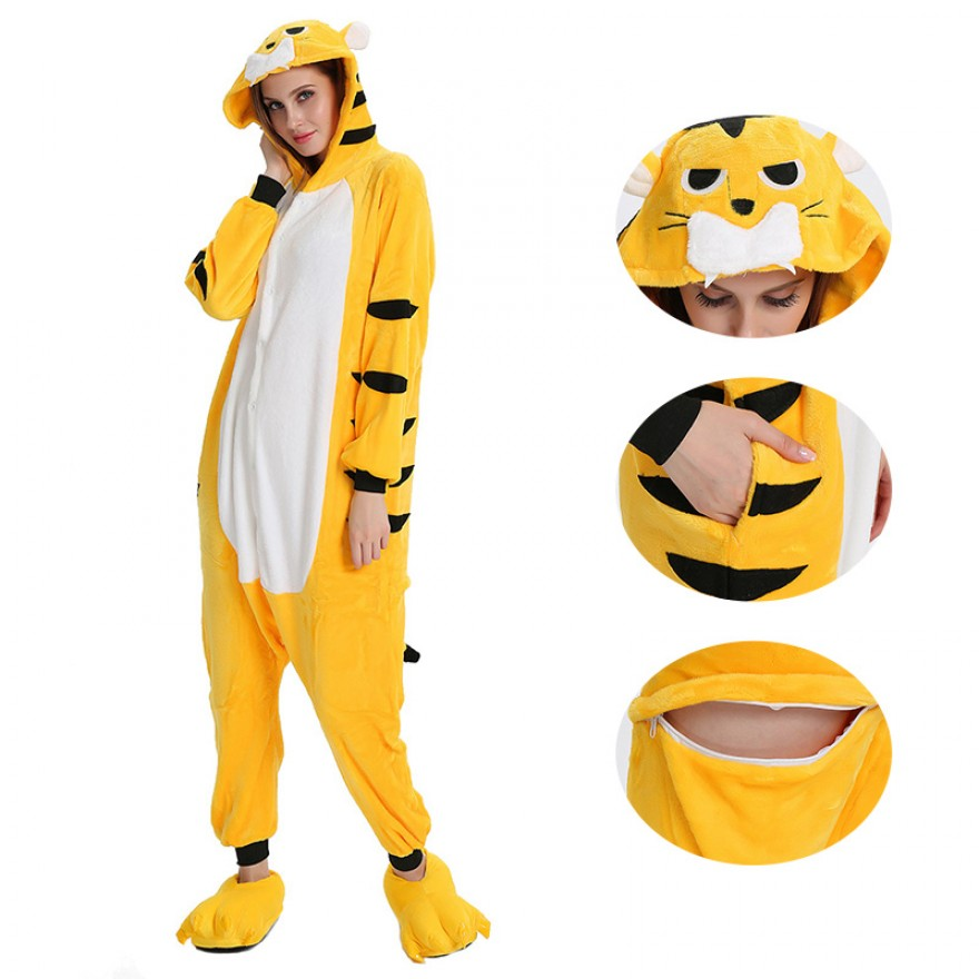 Yellow Tiger Kigurumi