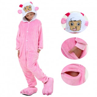 Kids Pretty Goat Kigurumi