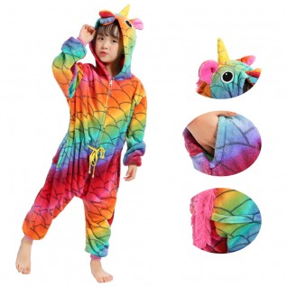 Kids Fish Belt Unicorn Kigurumi