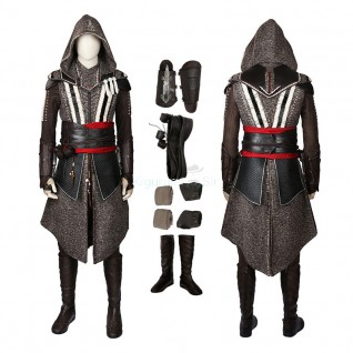 Assassin'S Creed Movie Costumes Master Assassin Callum Lynch Cosplay Suits