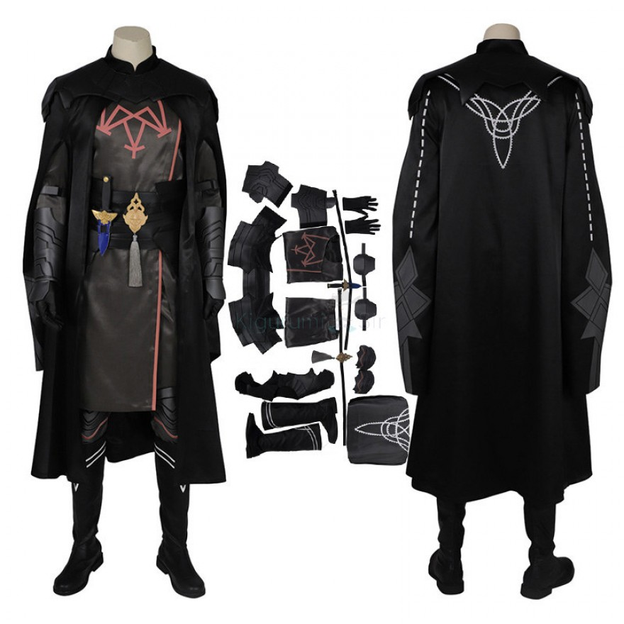Byleth Costume Fire Emblem Three Houses Byleth Cosplay Costume