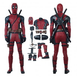Deadpool Costume Wade Wilson Luxury Suit Deadpool 2 Cosplay Costumes