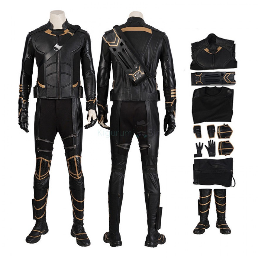 Hawkeye Costume Avengers-Endgame Clinton Barton Cosplay Suits