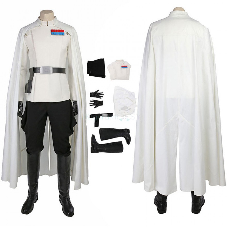 Orson Krennic Costume Rogue One A Star Wars Story Cosplay Deluxe Outfit