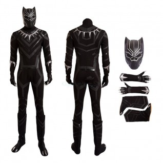 Black Panther Cosplay Costume Deluxe Outfit