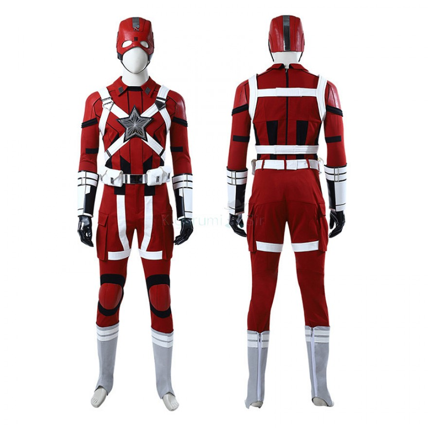 Red Guardian Costume Movie Black Widow 2020 Cosplay Suits