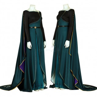 Anna Queen Costume Frozen 2 Cosplay Suits