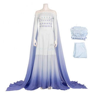 Elsa Costume Frozen 2 Cosplay Suits
