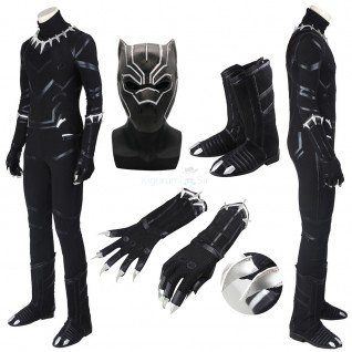 Black Panther Costume Black Panther Cosplay Luxury Suit