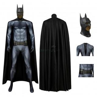 Batman Costume Batman v Superman: Dawn of Justice Cosplay Jumpsuit for Adult
