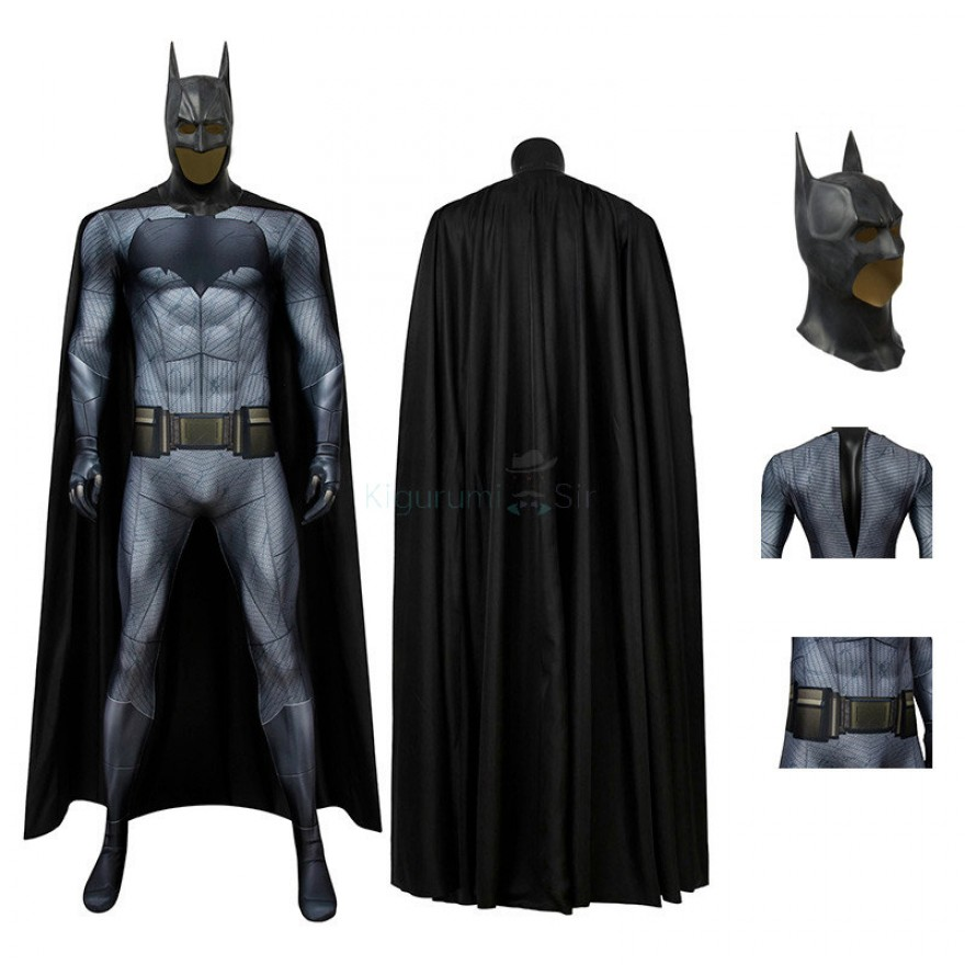 Batman Costume Batman v Superman: Dawn of Justice Cosplay Jumpsuit for Adult