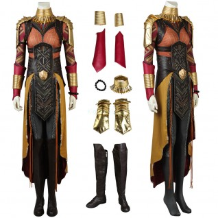 Okoye Wakanda General Costume Black Panther Cosplay Luxury Suit