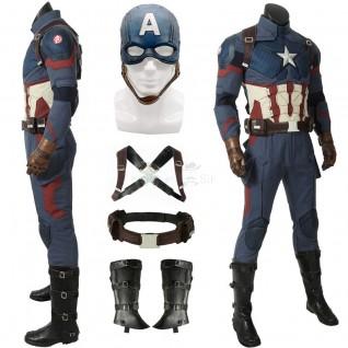 Captain America Costume Avengers-Endgame Steve Rogers Cosplay Costumes