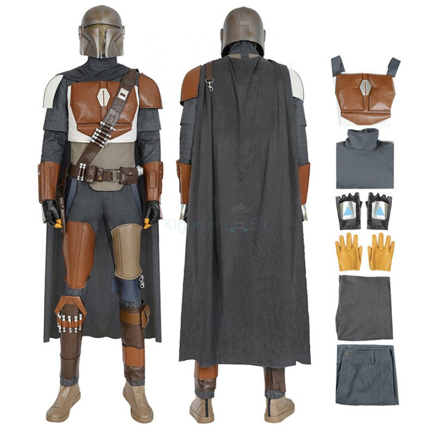 The Mandalorian Costume Star Wars Cosplay Costumes