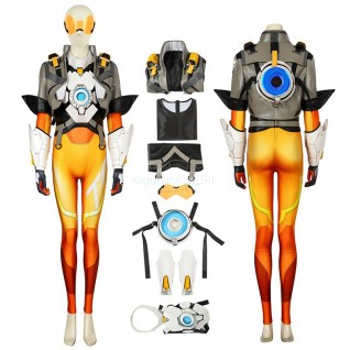 Tracer Costume Overwatch 2 Lena Oxton Cosplay Costume