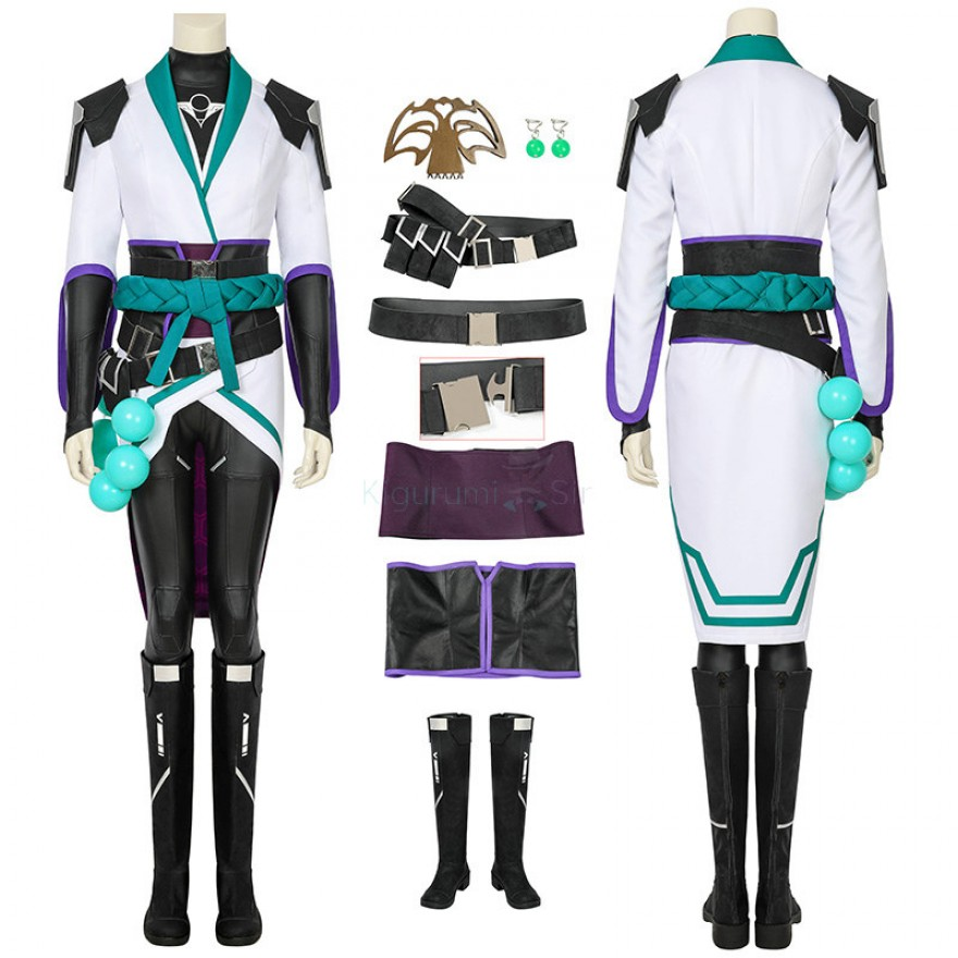 Sage Costume Valorant Game Cosplay Costume