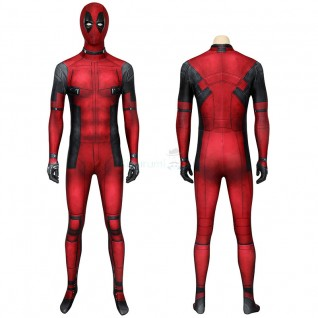 Wade Wilson Jumpsuit Deadpool Cosplay Costume