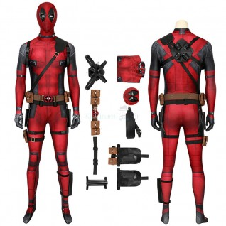 Wade Wilson Costume Deadpool Cosplay Suits