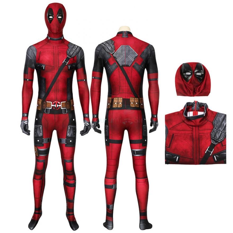 Wade Wilson Jumpsuit Deadpool Halloween Cosplay Costume