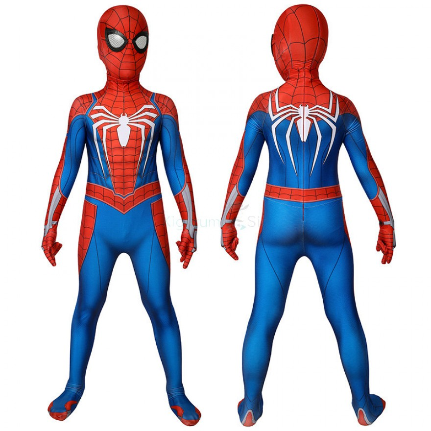 Kids Spiderman Jumpsuit Marvel Spider Man Cosplay Costume