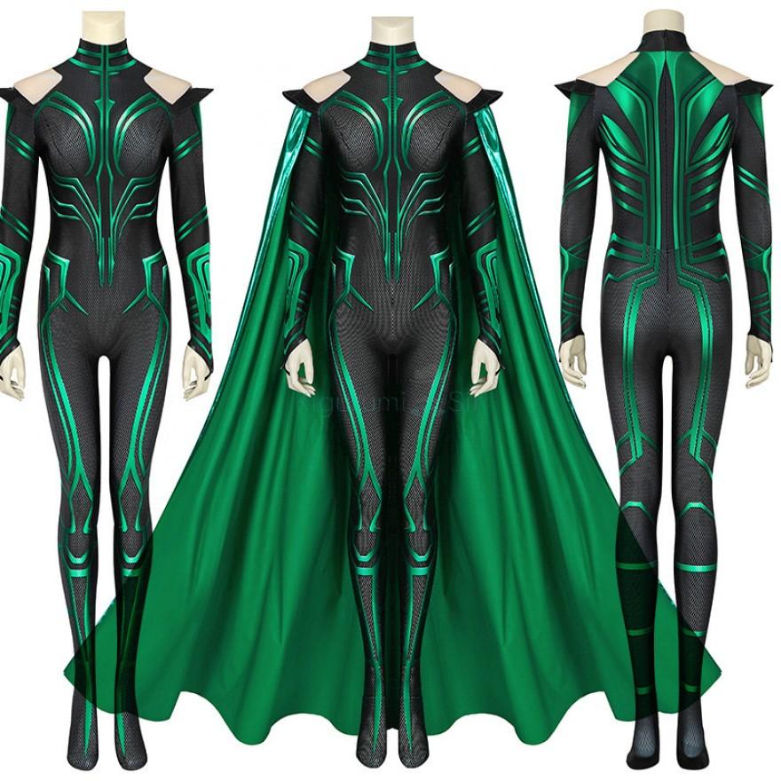 Hela Jumpsuit Thor Ragnarok Hela Cosplay Costume