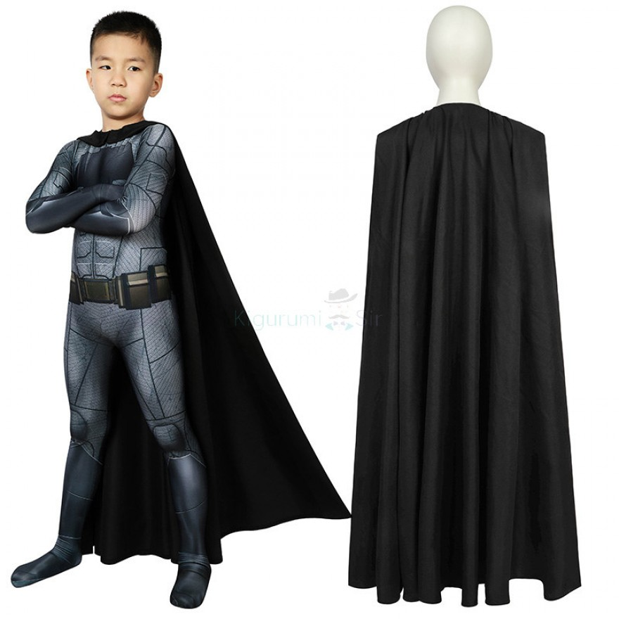 Kids Batman Jumpsuit Justice League Batman Cosplay Costume