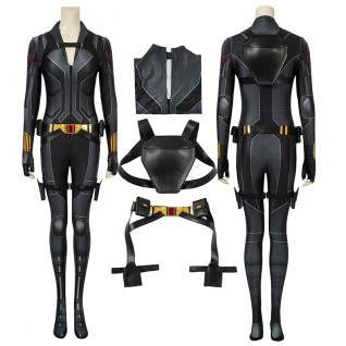 Natasha Romanoff Jumpsuit Black Widow Cosplay Costumes