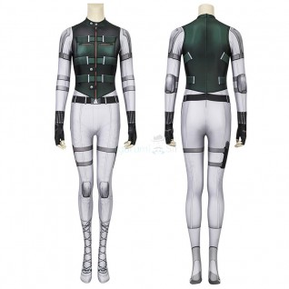 Yelena Belova Jumpsuit Black Widow Cosplay Costume