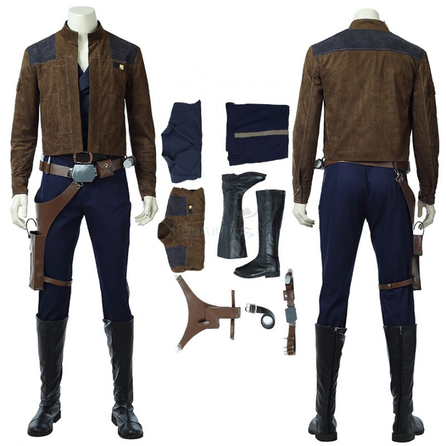 Han Solo Costume Solo A Star Wars Story Cosplay Costume