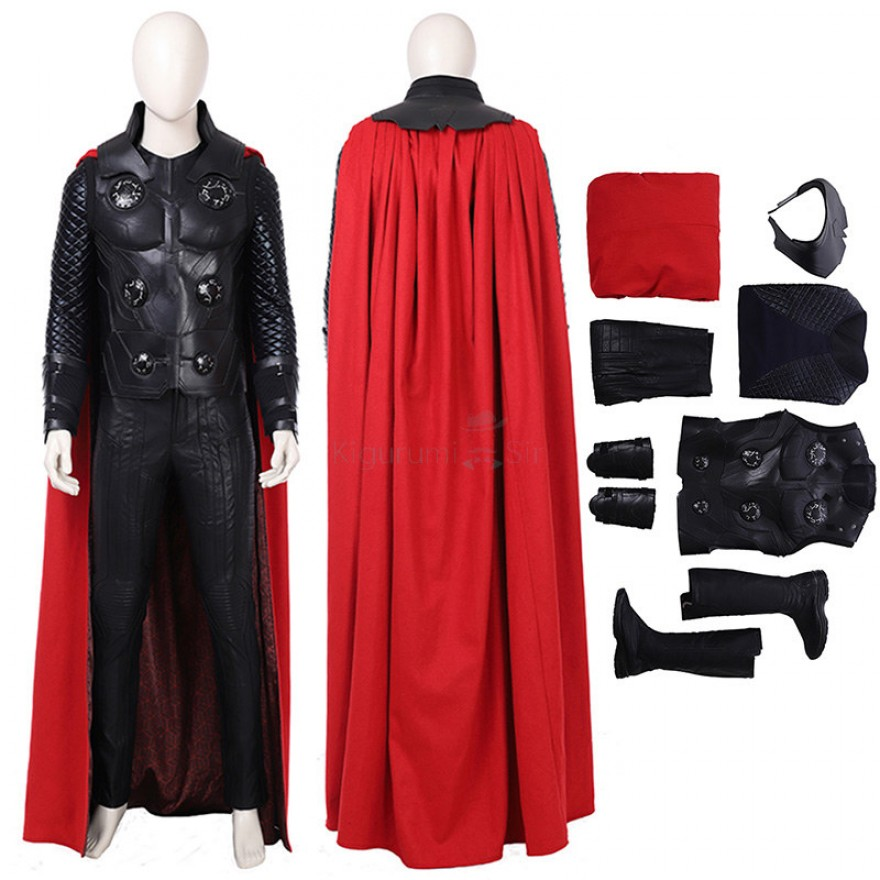 Thor Costume Avengers Infinity War Thor Odinson Cosplay Costume