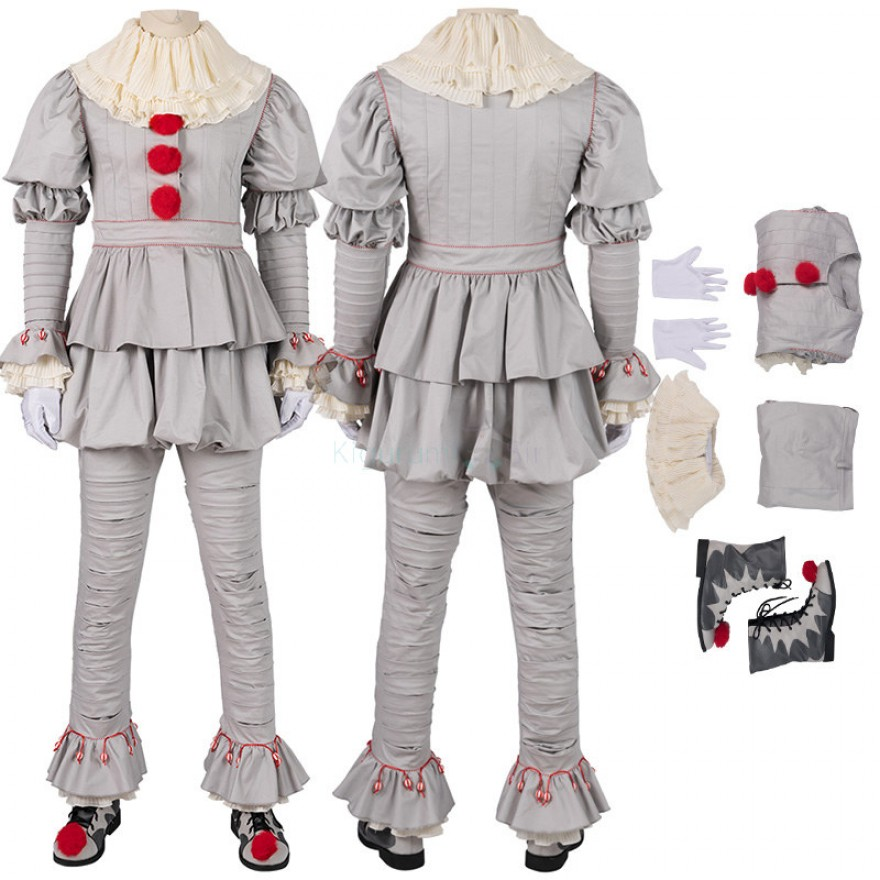 The Dancing Clown IT Chapter Two Pennywise Cosplay Costume