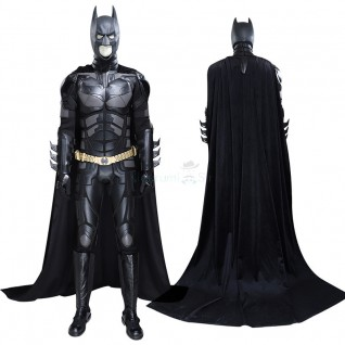 The Dark Knight Batman Bruce Wayne Cosplay Costume