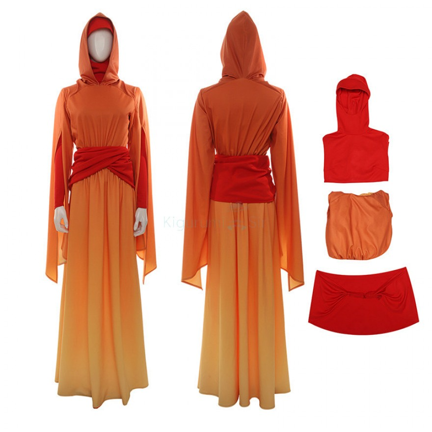 Padme Amidala Costume Star Wars Queen Amidala Cosplay Suits