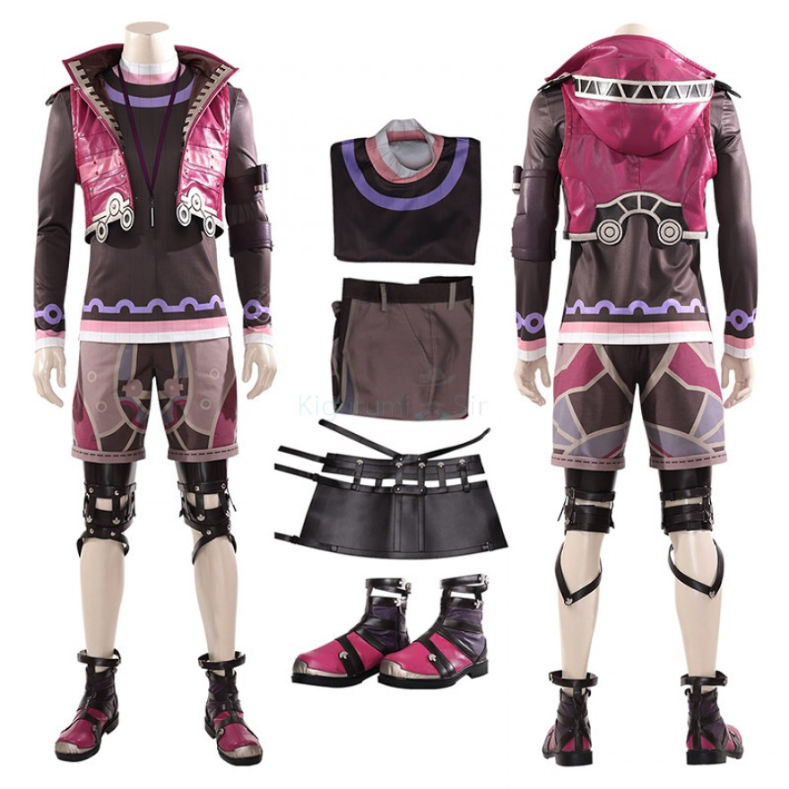 Xenoblade Chronicles Shulk Cosplay Costume