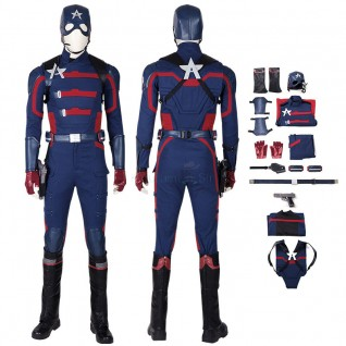 Captain America Costume U.S. Agent John Walker Cosplay Suits