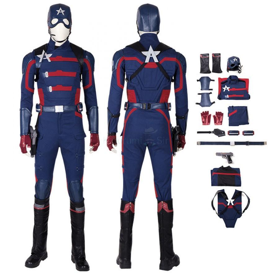 Captain America Costume U.S. Agent John Walker Cosplay Suits