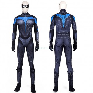 Titans Nightwing Dick Grayson Costume Cosplay