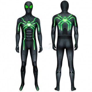 Spider Man Stealth Big Time Cosplay Costume for Adult